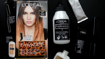 ombré hair l'oréal test
