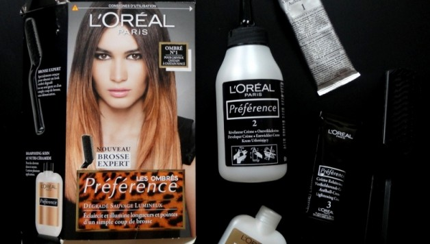 ombré hair l\u0027oréal test