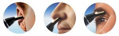 rasoir nez oreille