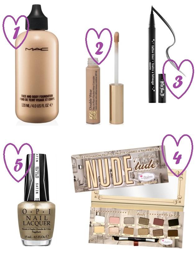 favoris makeup octobre - EMG