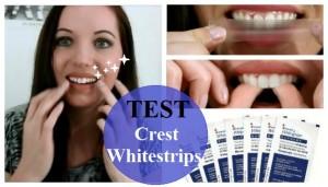 test Crest Whitestrips