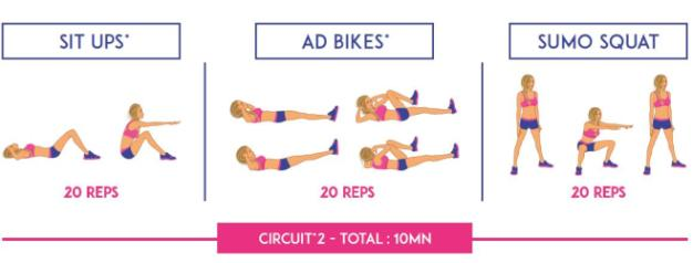 exemple exercice top body challenge