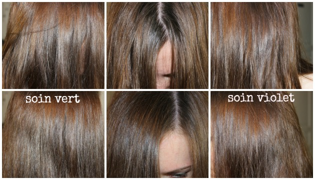 Coloration cheveux anti roux