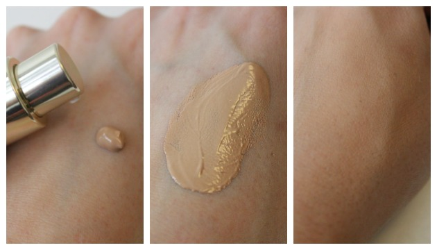 BB Skin detox fluid Clarins - rendu