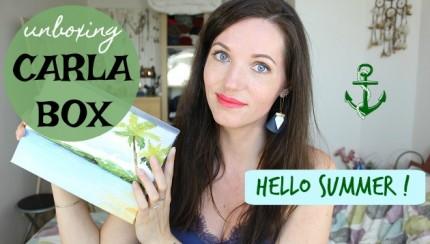 unboxing Carla Box hello summer juin 2017
