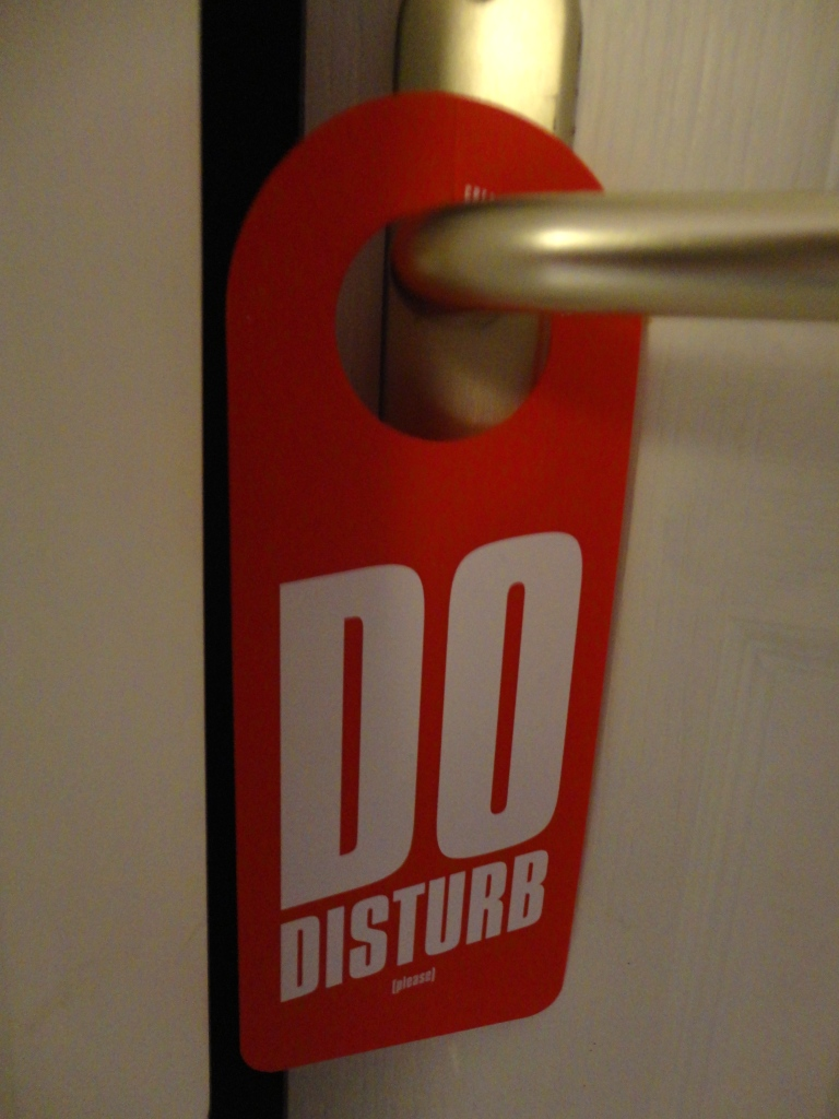 do disturb please