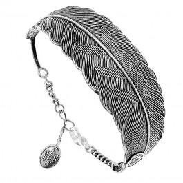 jollia bracelet-plume-argent