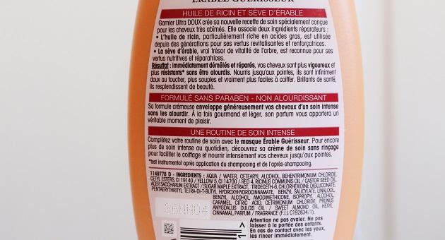 Erable Guerisseur après-shampoing (3)