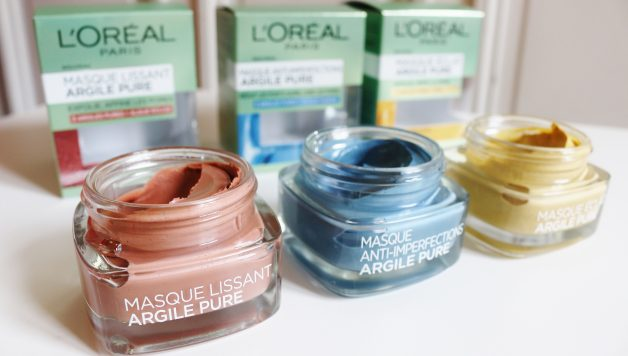 Masques à l'argile pure, L'Oreal Paris