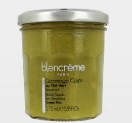 gommage corps thé vert - Blanc Creme