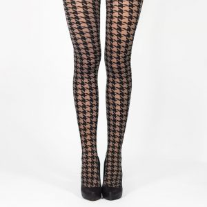 Collants motif pied de poule, Le Tiroir à Collants