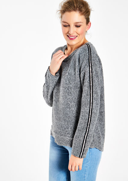 Pull gris froufrou, LolaLiza