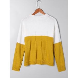 Pull moutarde, Zaful