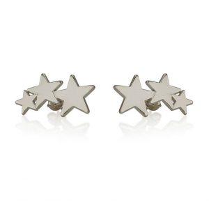 Boucles d'oreilles étoiles, oNecklace
