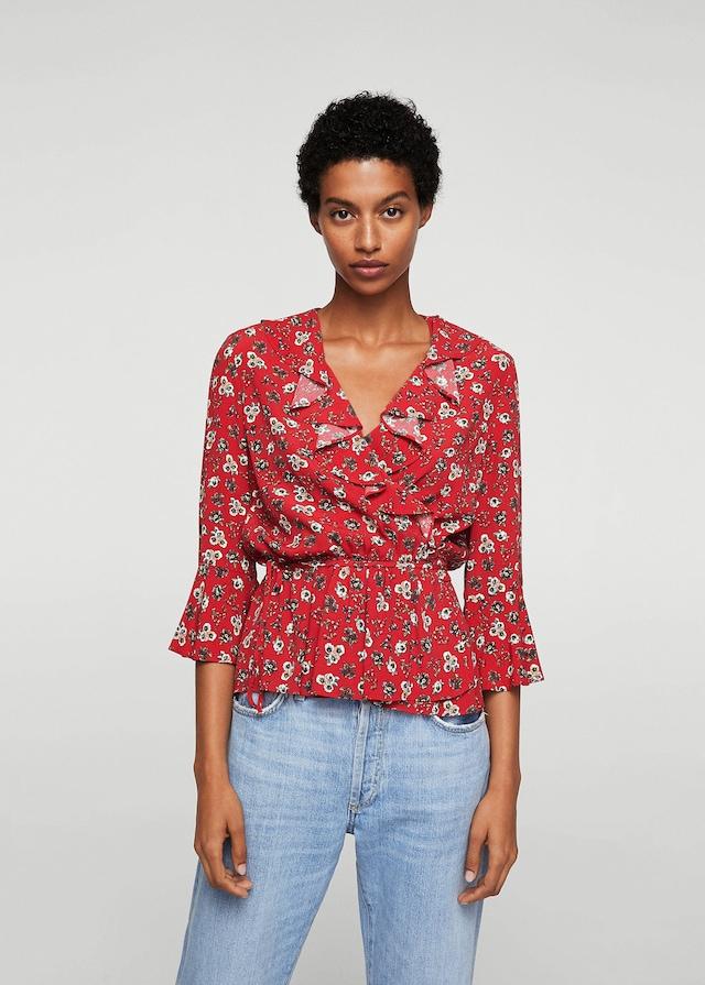 Chemise à fleurs, Mango