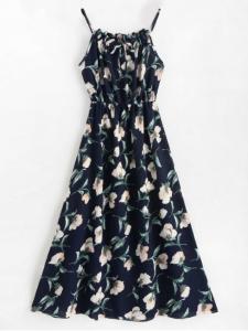 Sleeveless Floral Maxi Dress - $21.99