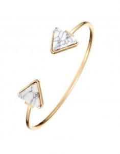 Bracelet jonc en marbre