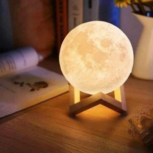 Lampe lune rechargeable