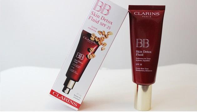 BB skin detox fluid, Clarins